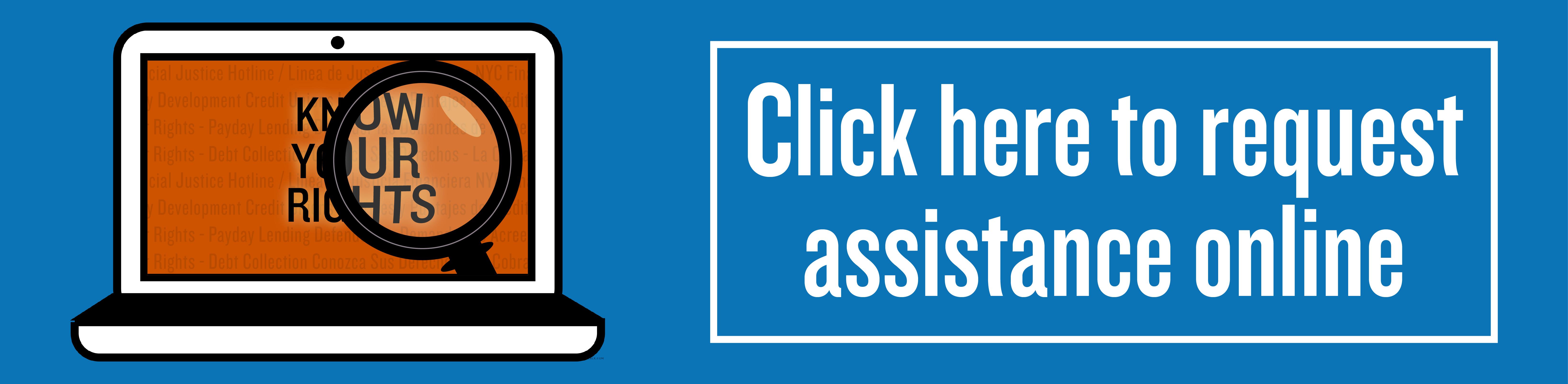 Request Assistance Online