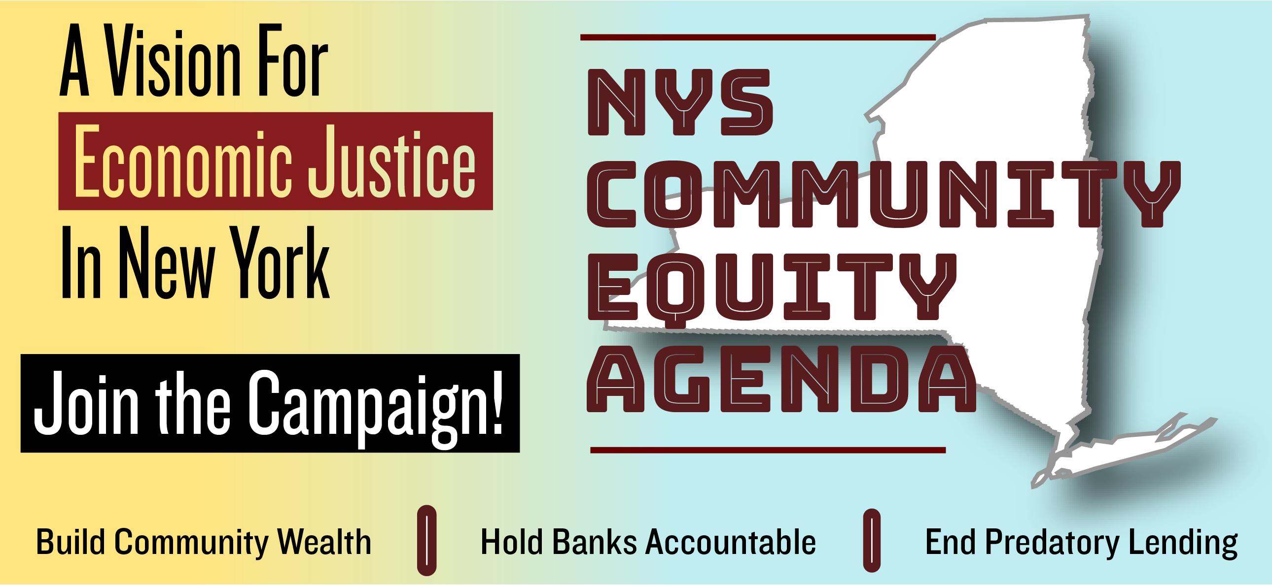 NY Community Equity Agenda