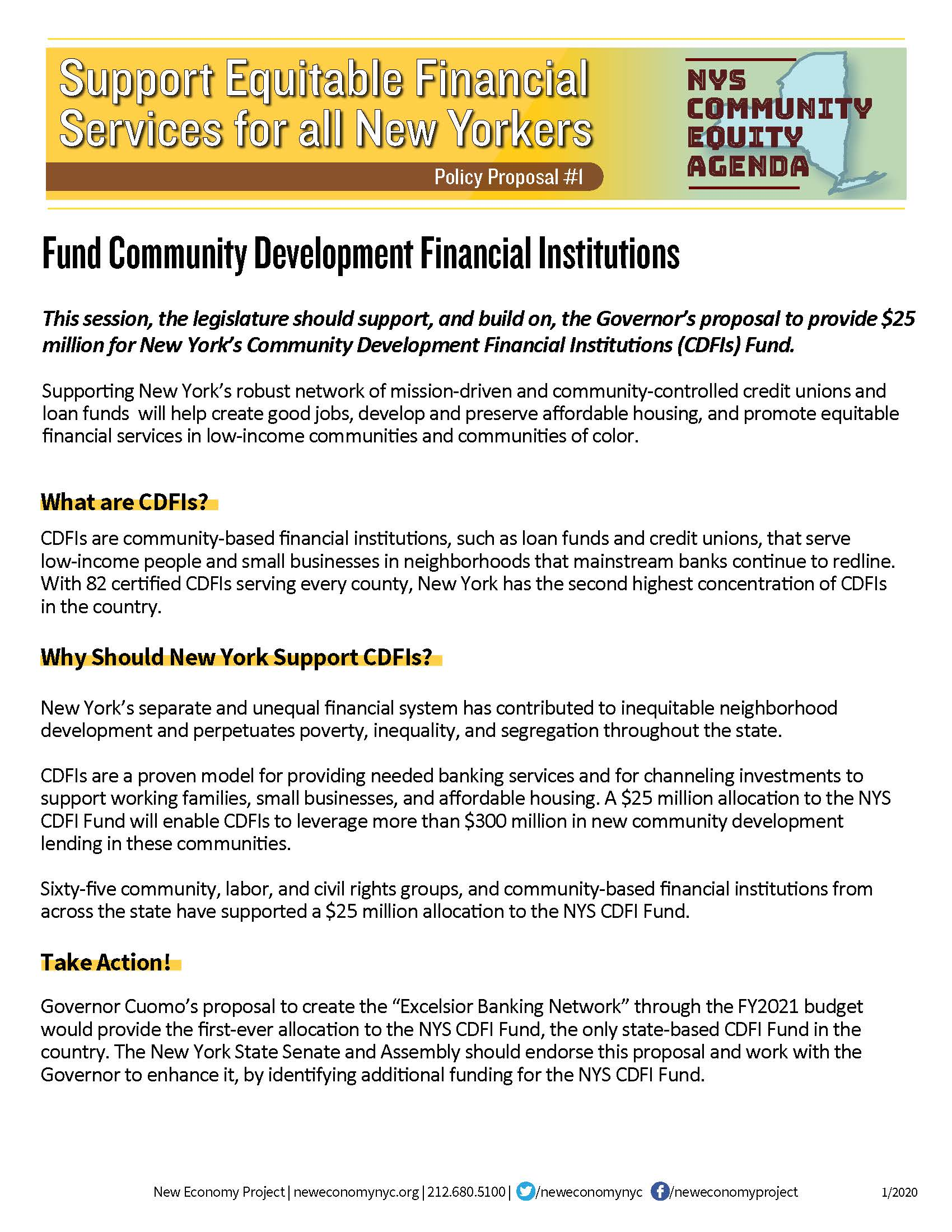 2020 CDFI Fund