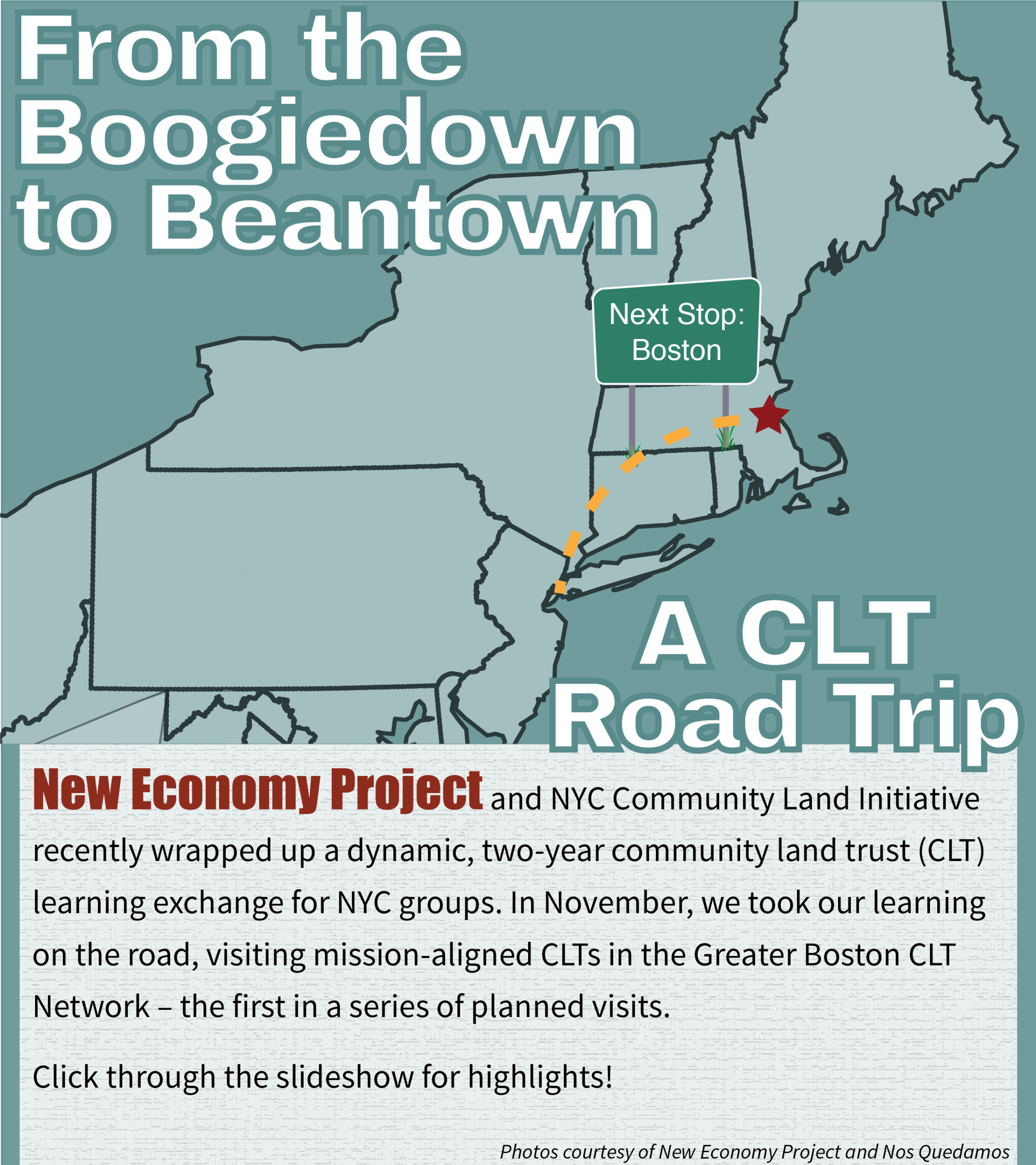 From the Boogiedown to Beantown: A CLT Road Trip