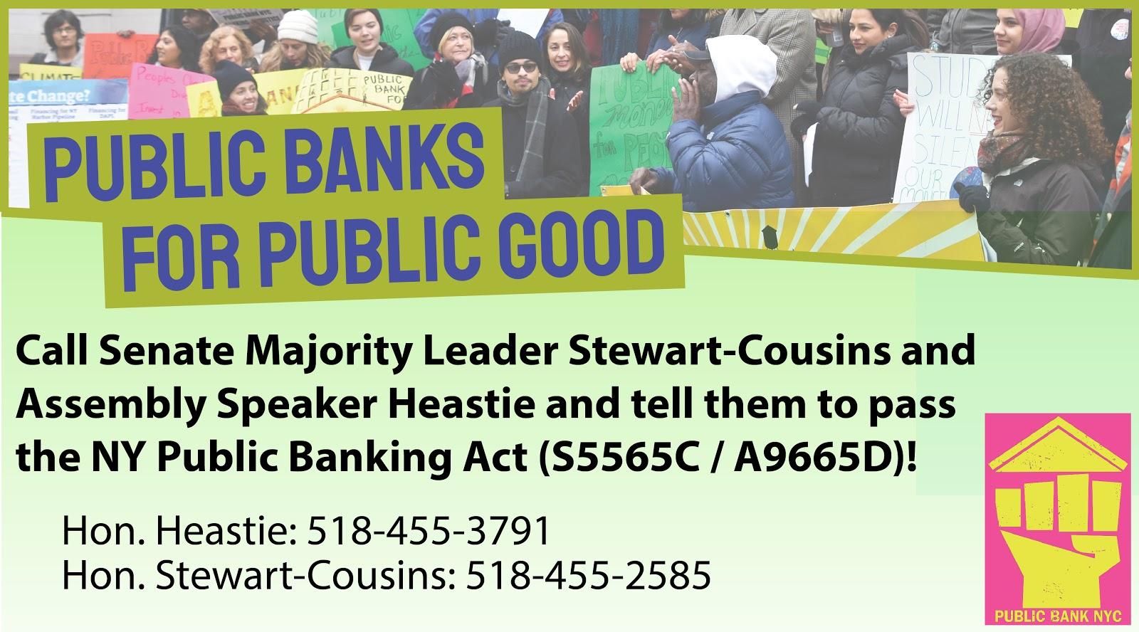 Public Banks for Public Good