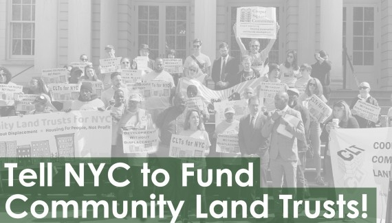 Tell NYC to Fund Community Land Trusts